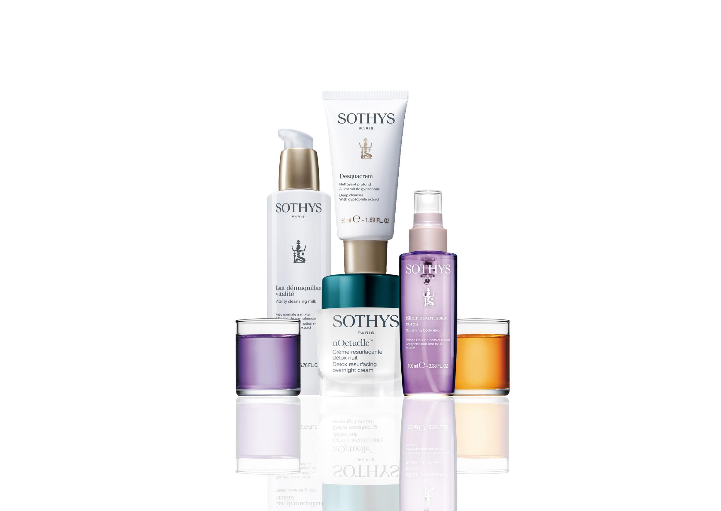Les produits Sothys en ligne